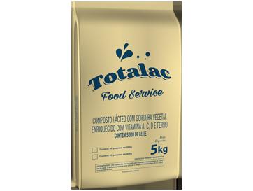TOTALAC<br> Composto Lácteo com gordura vegetal enriquecido com vitaminas